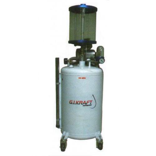 Установка для откачки масла с пневмонасосом и мерной колбой (80л.) G.I. KRAFT HD-853