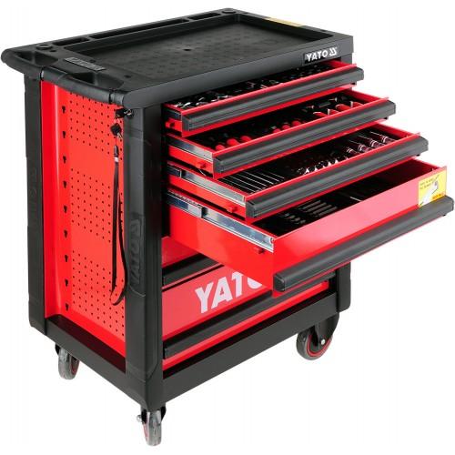 Инструментальная тележка 177 предметов YATO YT-55300