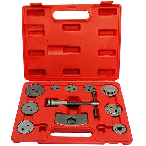 Комплект инструмента для развода поршней тормозных цилиндров 12шт. QS70062