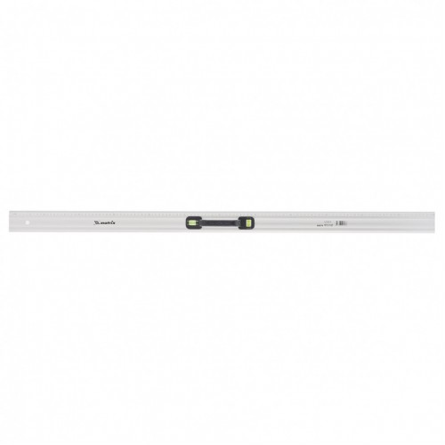 Линейка-уровень, 1200 мм, металлическая, пластмассовая ручка 2 глазка. MATRIX MASTER