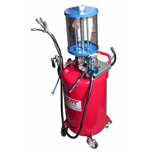 Устройство для вакуумного откачивания технических жидкостей с предкамерой.