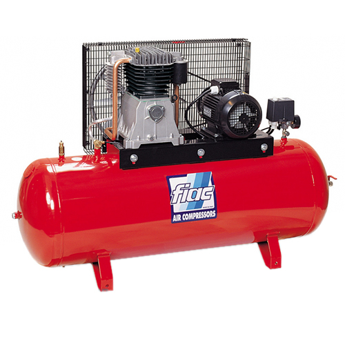 Компрессор поршневой с ременным приводом, Vрес=500л, 988л/мин, 380V, 7,5кВт FIAC AB500-988-380