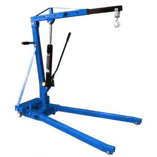 Кран гидравлический поворотный 360° 2 тонны складной