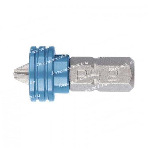 Бита PH2 x 25 мм с ограничителем и магнитом, для ГКЛ, S2. GROSS 11455