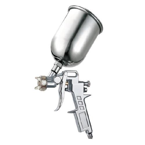 Краскопульт пневматический  тип HP верхний металлический бачок, диаметр форсунки-1,5мм  AUARITA   S-990G-1.5