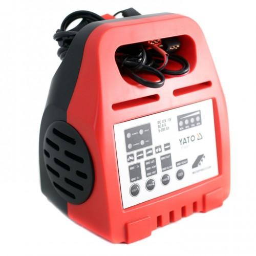 Зарядное устройство 6/12V 8А 5-200Ah YATO YT-8301