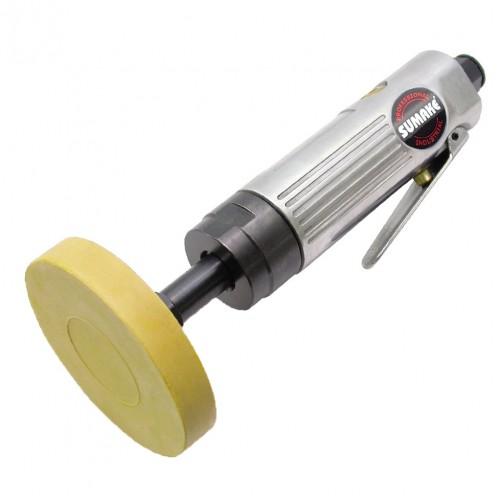 Пневматическая цилиндрическая машинка с резиновым зачистным диском 2 600 об/мин SUMAKE ST-6634