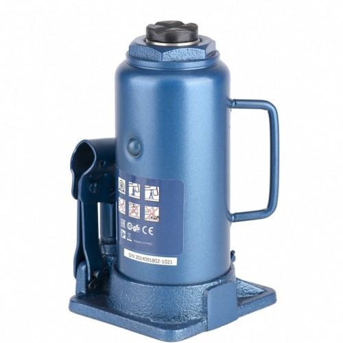Домкрат гидравлический бутылочный, 12 т, H подъема 230-465 мм. STELS 51108