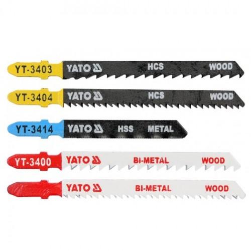 Полотна для электролобзика MIX 5 предметов YATO YT-3445
