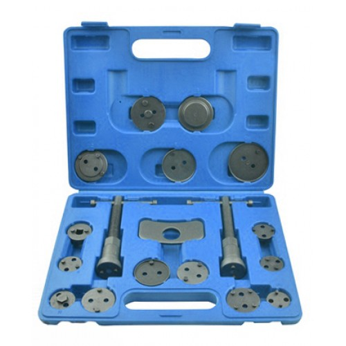 Комплект инструмента для развода поршней тормозных цилиндров 18шт. QS70060