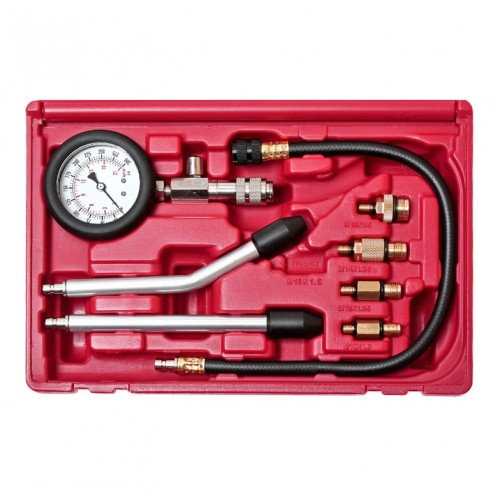Компресcометр для бензиновых двигателей с набором адаптеров