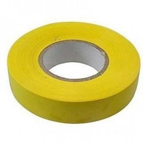 Изолента ПВХ, 15 мм х 10 м, желтая СИБРТЕХ 88790