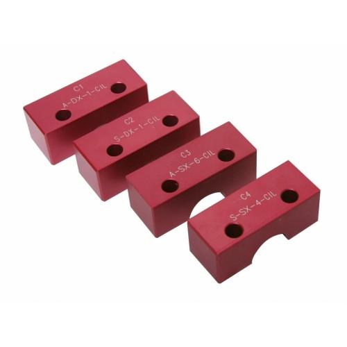 Блокировка ГРМ ALFA ROMEO 2.5/3.0 V6  красный Quatros QS10149-C