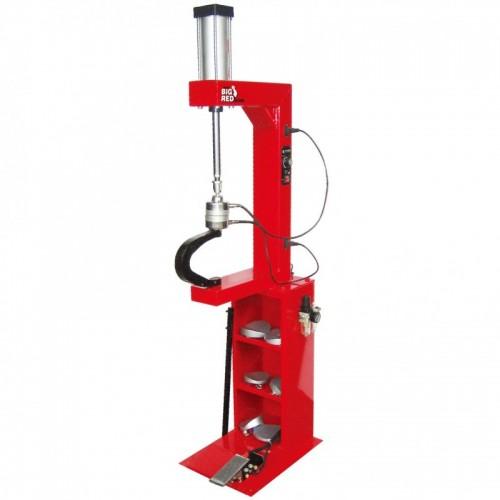 Вулканизатор с пневматическим прижимом, на стойке, 2 нагревательные пластины, комплект прижимов (6 форм)   TORIN  TRAD004Q TORIN TRAD004Q