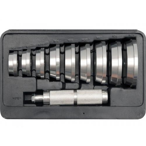 Набор для установки подшипников и сальников диаметры 40-81 мм, 10 шт. YATO YT-0638