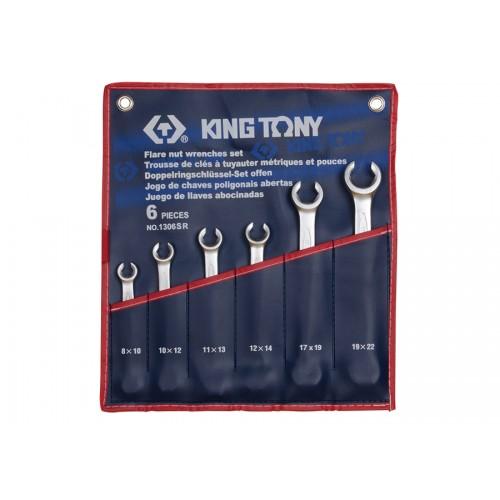 Набор ключей разрезных дюймовых 6 предметов