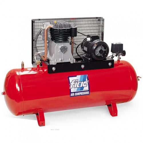 Компрессор поршневой с ременным приводом, Vрес=300л, 800л/мин, 380V, 5,5кВт FIAC AB300-800-380
