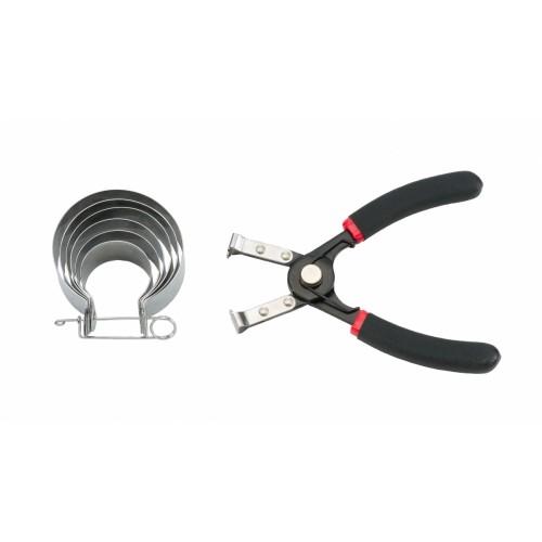 Набор оправок поршневых колец МОТО 40-80 мм