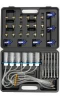 Тестер герметичности дизельных форсунок Common-Rail с адаптерами QUATROS QS30183