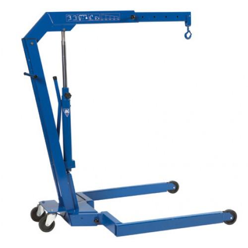 Кран гидравлический подкатной грузоподъемность 1100 кг