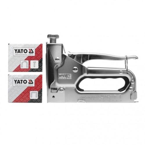 Степлер 3-х функциональный профи. степлер предназначен для работы со скобами 10,6х6-14 мм, полкуруглыми скобами 6,2х10-12 мм и гвоздями 1,2х8-14 мм.