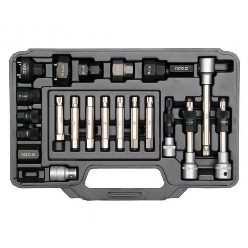 Набор ключей и головок для генераторов 22шт.