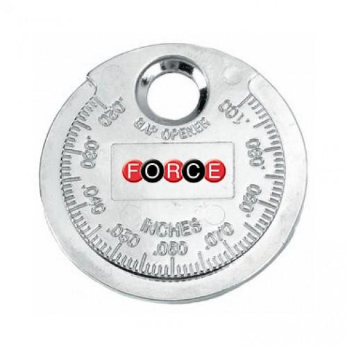 Щуп (монета) для измерения зазора между электродами свечи