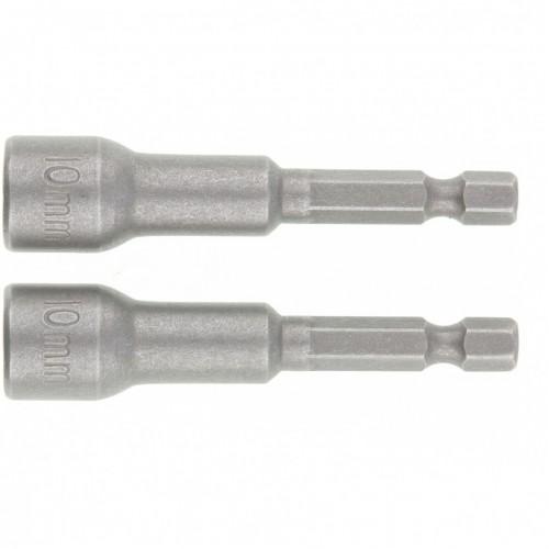 Биты с торцевыми головками 10 мм, 65 мм, 2 шт. MATRIX 11576