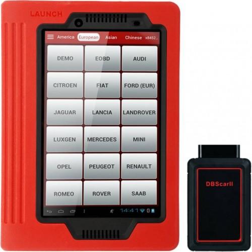 Автомобильный мультимарочный сканер LAUNCH X-431 PRO