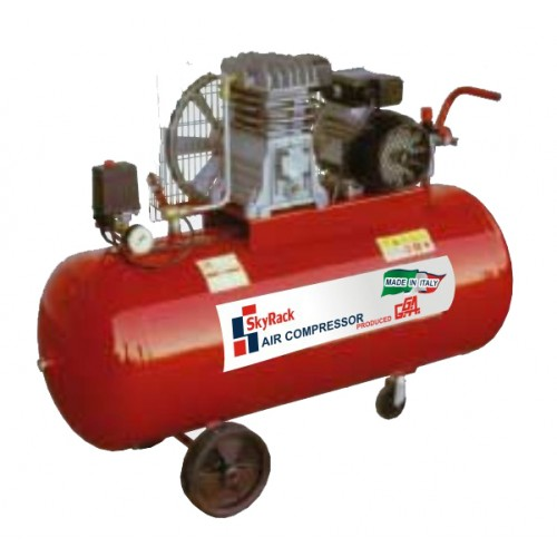 Компрессор поршневой с ременной передачей (150 л)