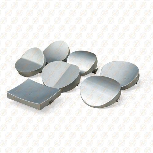 Вулканизатор с винтовым прижимом, на стойке, 2 нагревательные пластины, комплект прижимов (6 форм)   TORIN  TRAD004 TORIN TRAD004