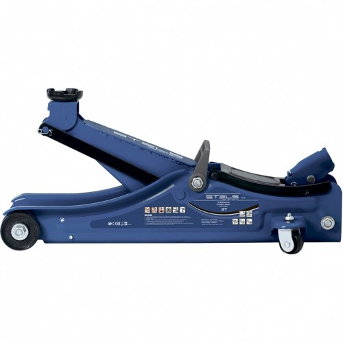 Домкрат гидравлический подкатной, 2 т, Lo W Profile, 80-380 мм. STELS 51129