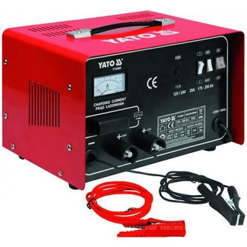 Зарядное устройство 12/24v 25а 350Ah YATO YT-8305