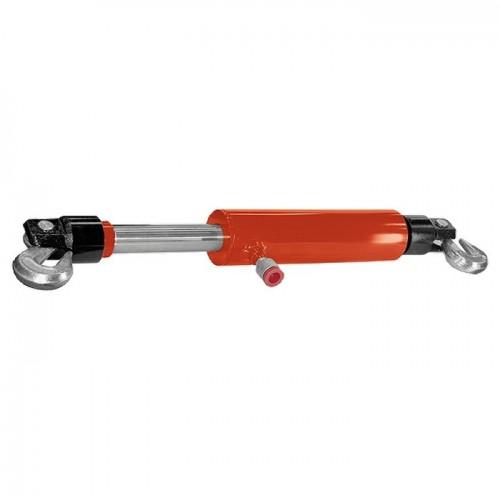 Цилиндр гидравлический, 5 т, стяжной усиленный с крюками. MATRIX