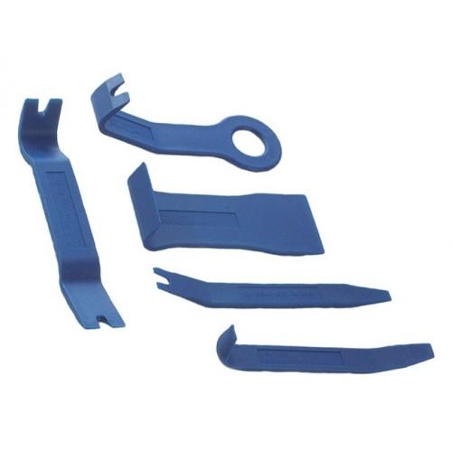 Набор лопаток для разборки обшивки (пластик) 5 пр FORCE