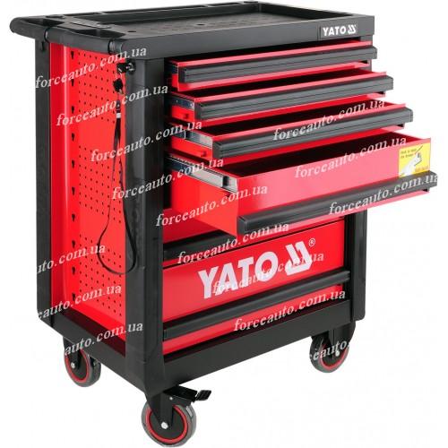 Инструментальная тележка с 6 полками YATO YT-0902