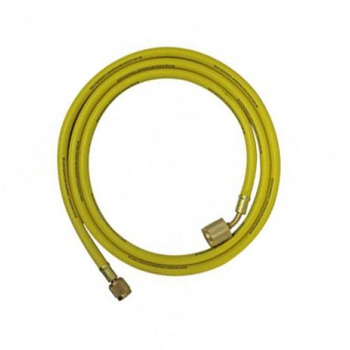 Гибкий шланг для обслуживания кондиционеров 90 см, R134A, R22, R407C (Желтый) MASTERCOOL MC  -  41362