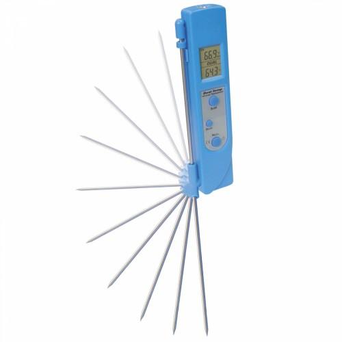 Термометр электронный с двумя точками измерения