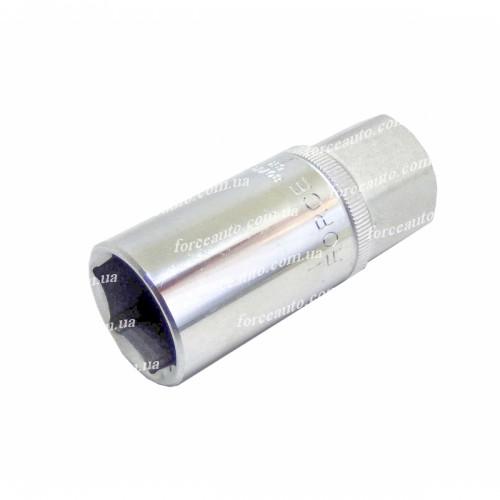 Головка свечная 20,6 мм., 6-ти гранная FORCE 807420.6 F