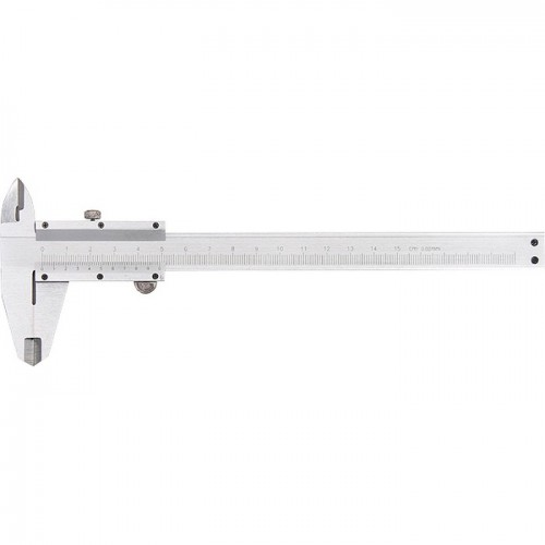 Штангенциркуль, 250 мм, цена деления 0,02 мм, металлический, с глубиномером. MATRIX