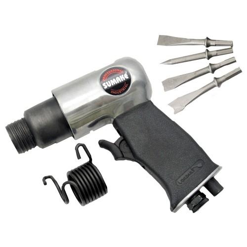 Пневмомолоток 4 500 уд/мин с комплектом насадок 4 пр. SUMAKE ST-2310/H
