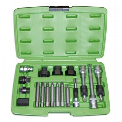 Набор инструмента для снятия шкива генератора 18 единиц 51259 JBM