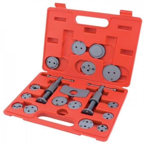 Комплект для обслуживания тормозных цилиндров 18 единиц (два винта) TOPTUL JGAI1801