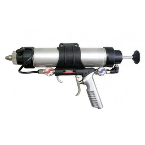 Пневмошприц для туб многофункциональный 500 мл SUMAKE ST-66413