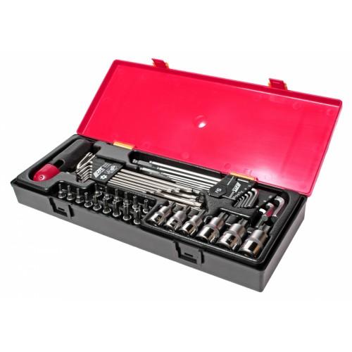 """Набор инструмента 1/4, 3/8, 1/2"""" TORX, HEX 40ед K1401 JTC"""