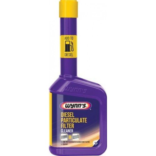 Очиститель DIESEL PARTICULATE FILTER CLEANER 325мл WYNN'S 28263