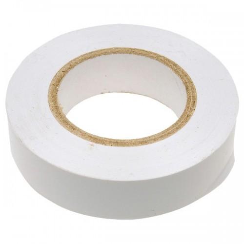 Изолента ПВХ, 19 мм х 20 м, белая СИБРТЕХ 88798