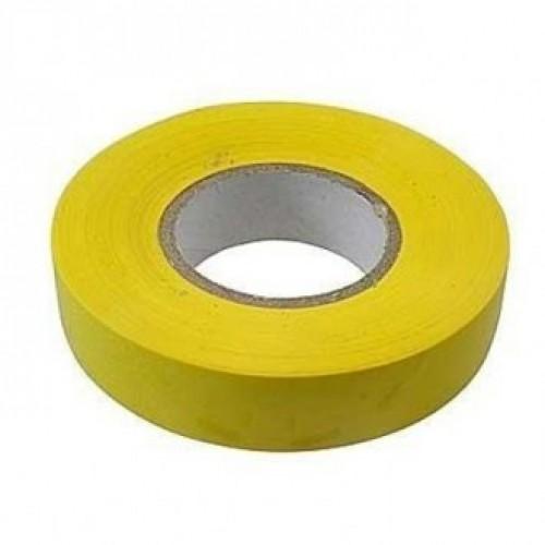 Изолента ПВХ, 19 мм х 20 м, желтая СИБРТЕХ 88796