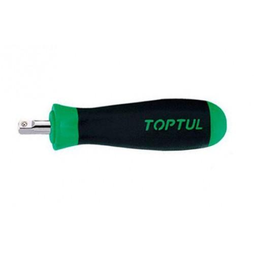 """Вороток-отвертка 1/4"""" 135мм (резиновая ручка)  TOPTUL CAIP0814"""