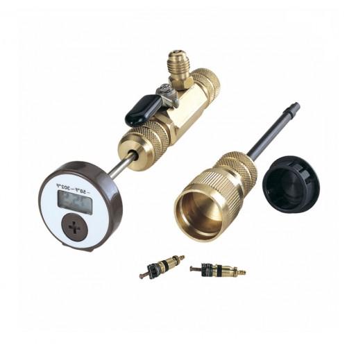 Термометр для измерения t° газа внутри системы без её разгерметизации